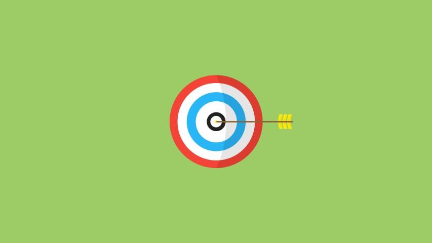flat design bullseye