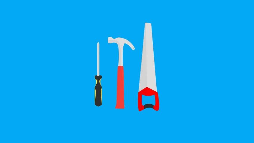flat design tools