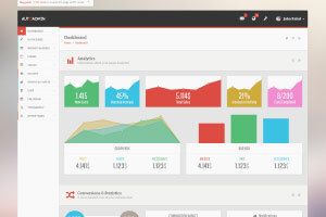 Auto Admin | Premium Responsive Admin Template
