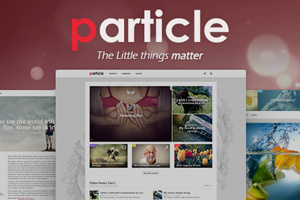 Particle | WP Magazine Theme