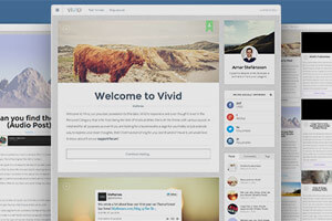 Vivid | Customizable Responsive Personal Blog