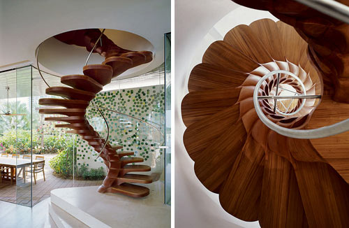 Fantastic modern staircases