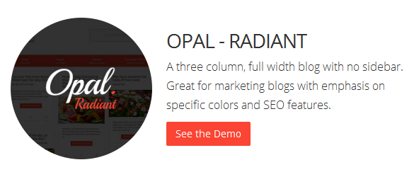 Bluthemes - Opal Radiant